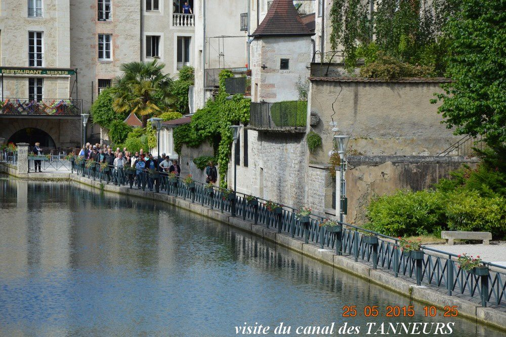VOYAGE ANNUEL 2015  EN FRANCHE -COMTE