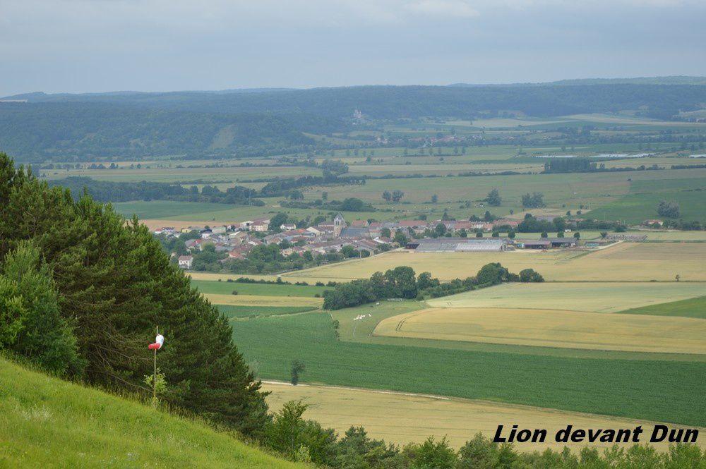 DIMANCHE 25 JUIN 2017      LION DEVANT DUN (MEUSE)