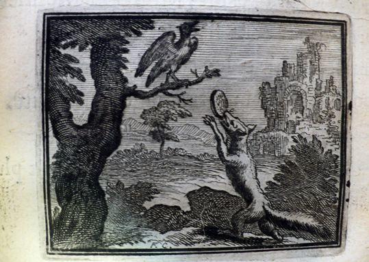 Le corbeau et le renard - François Chauveau