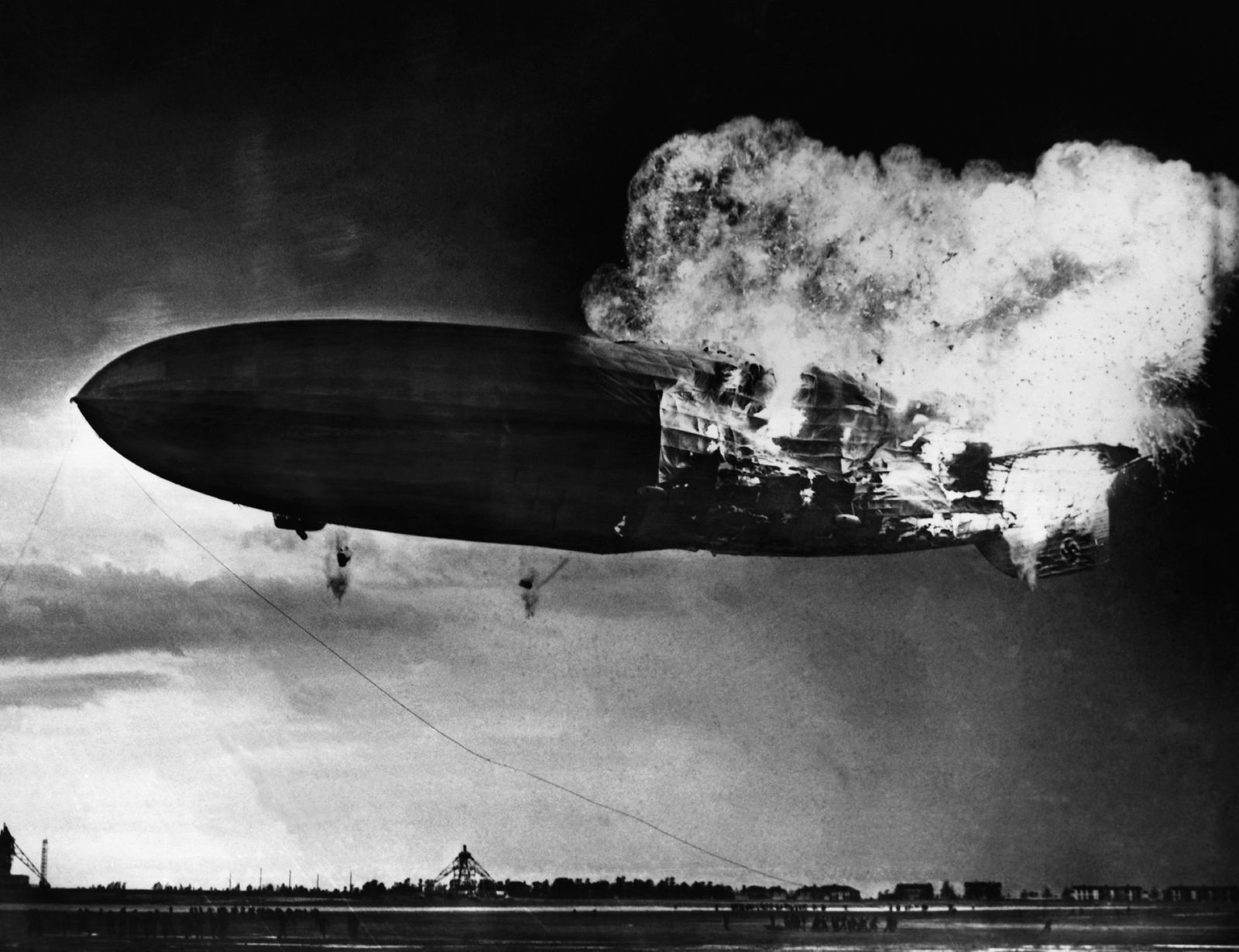 crash du Hindenburg en 1937