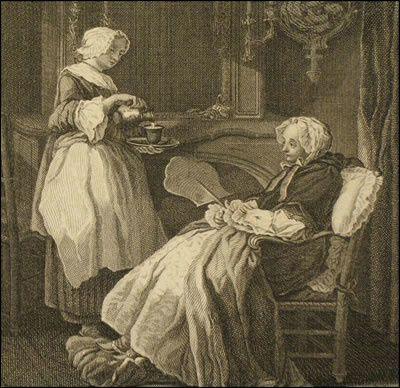 RESTAURATION D'UN ECRAN A MAIN DU XVIIIe