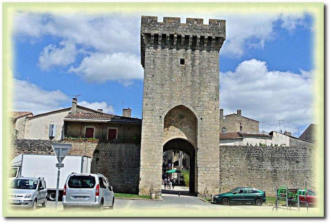 Cadillac, rive droite de la Garonne