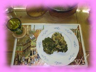 Escalope de poulet farcie aux épinards et boursin