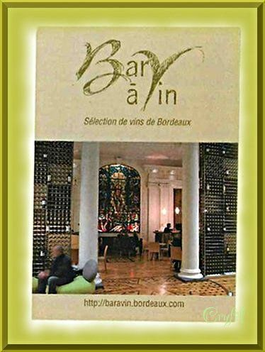 Bar à vins Bordeaux