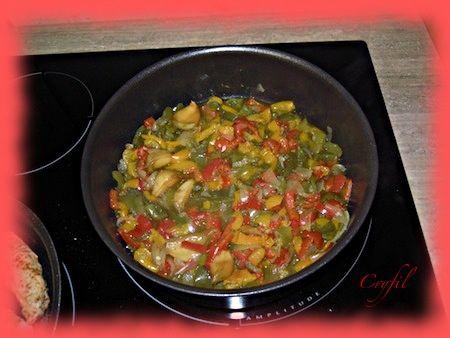 Une fois les légumes cuits,