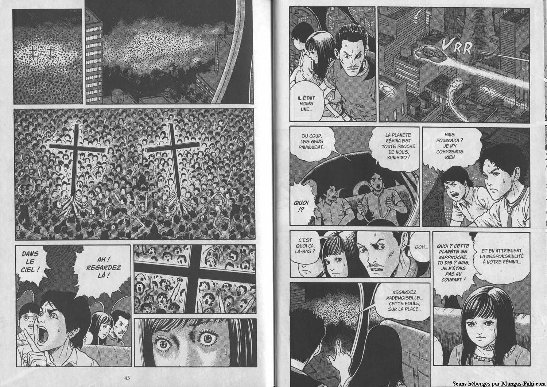 Rémina planète de l'enfer : un manga d'horreur de Junji Ito