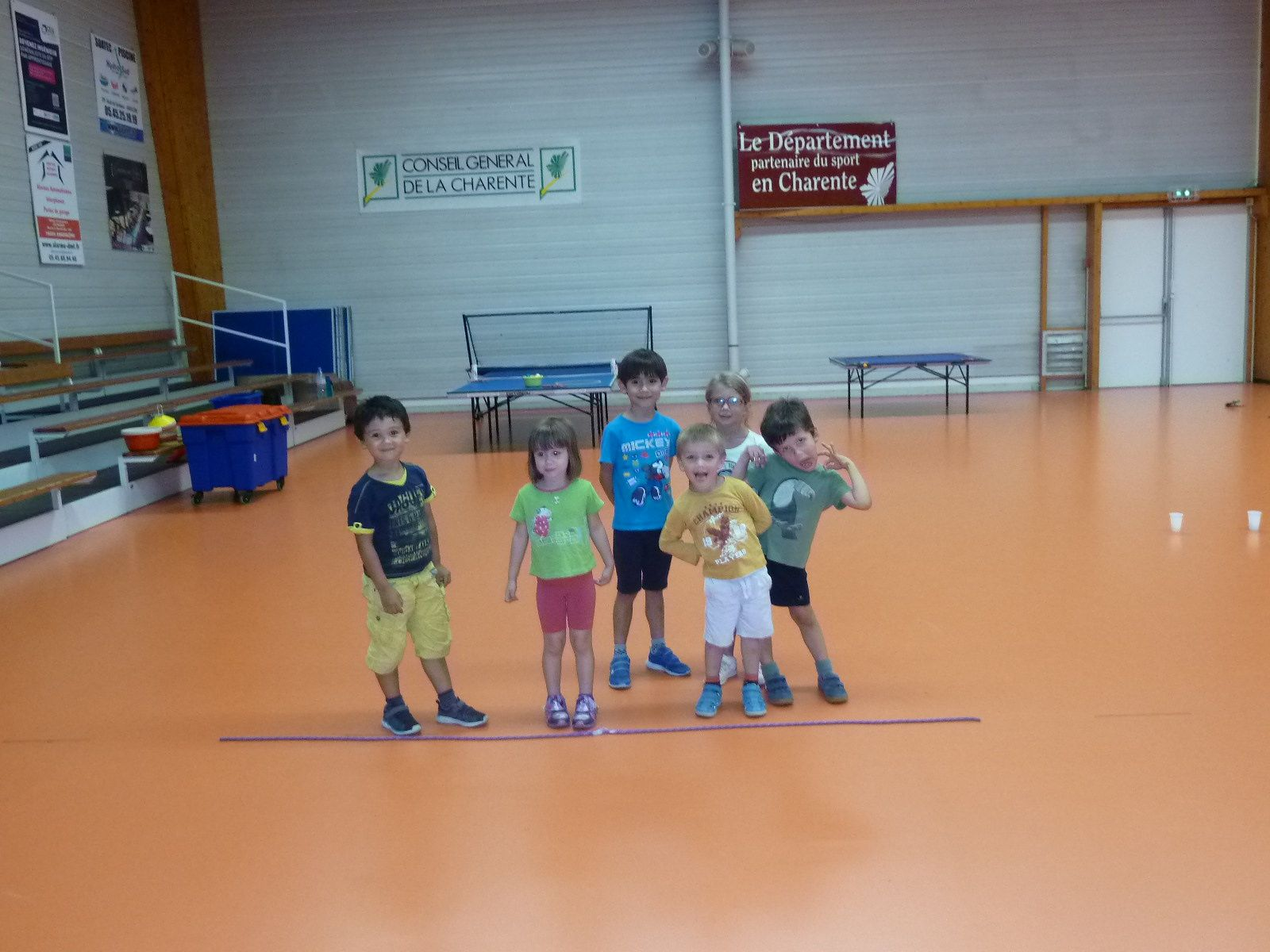 le baby-ping :les ateliers!