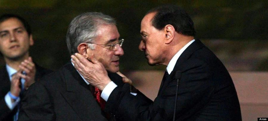Marcello Dell'Utri et Silvio Berlusconi