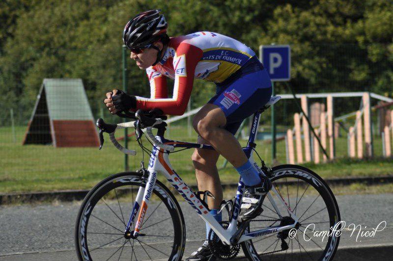 Championnat de Bretagne du Contre la Montre à Saint Brandan classement Juniors hommes