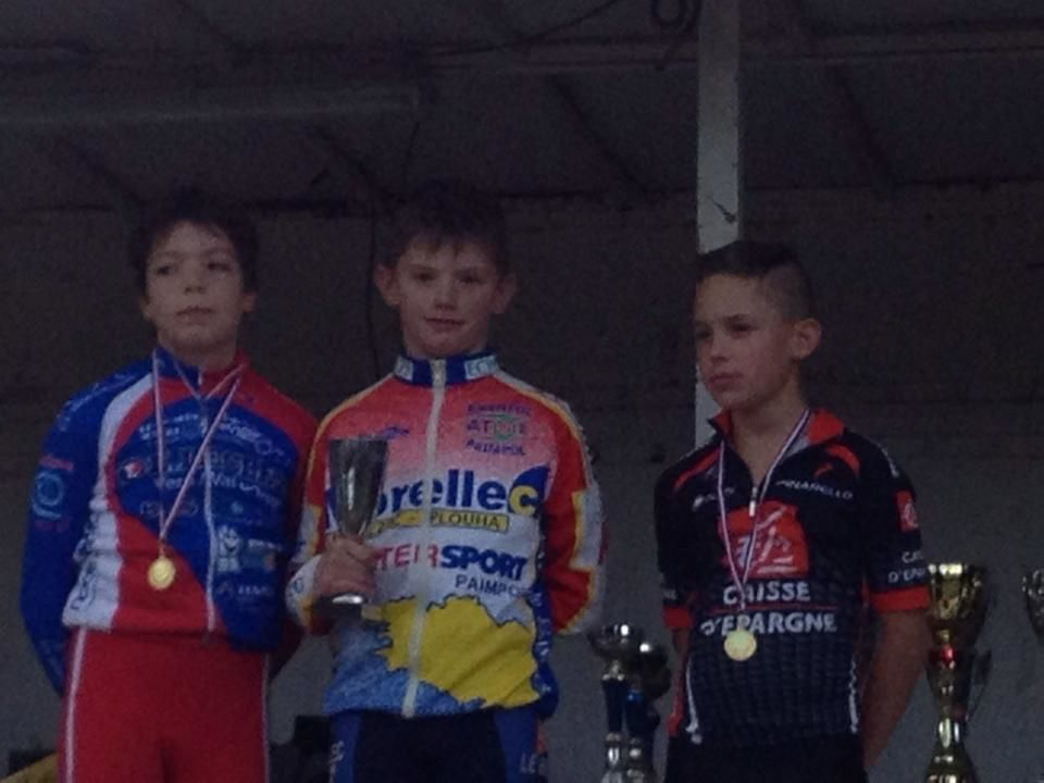 victoire de Mathieu au cyclo cross de baud