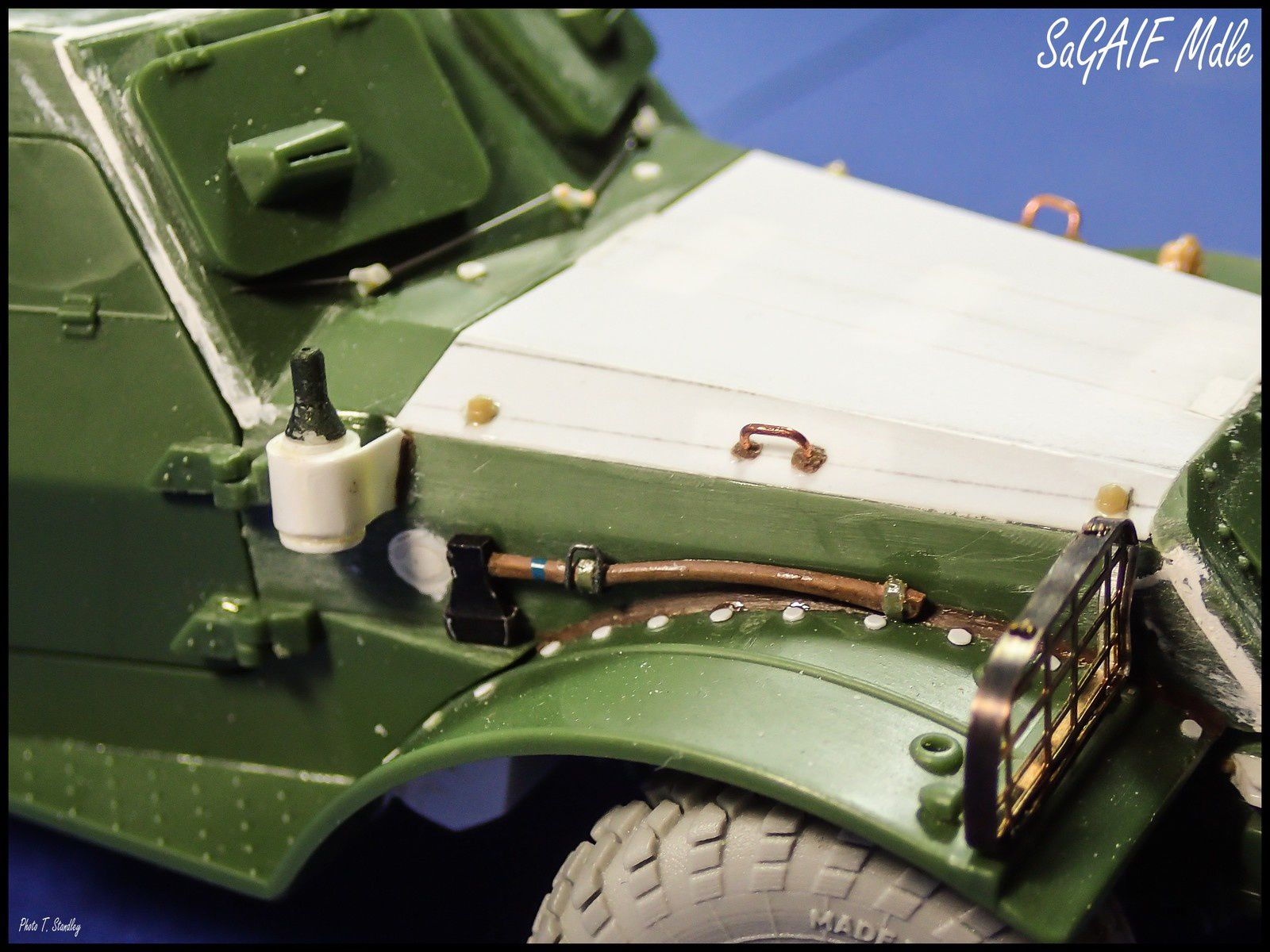 BTR 152 K Ambulance - épisode 2. ( montage terminé!! )