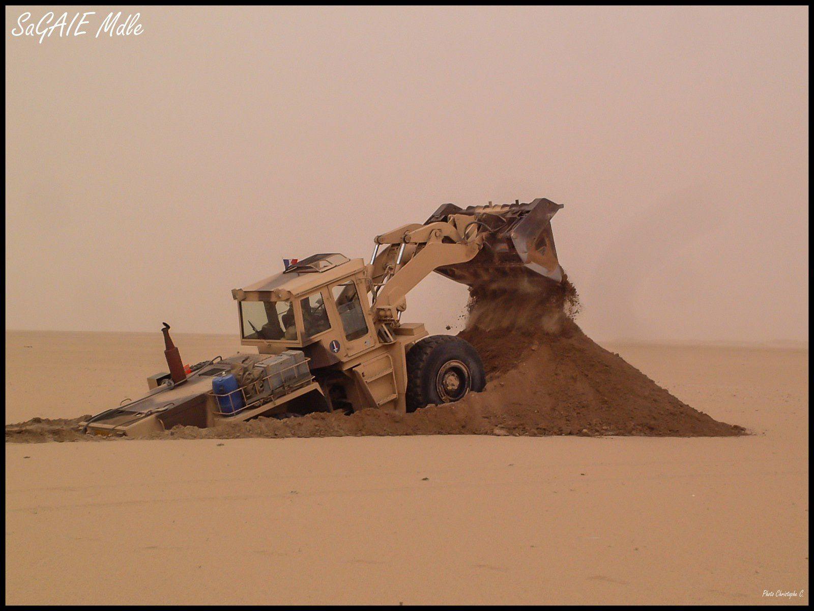 M.P.G. dans le désert