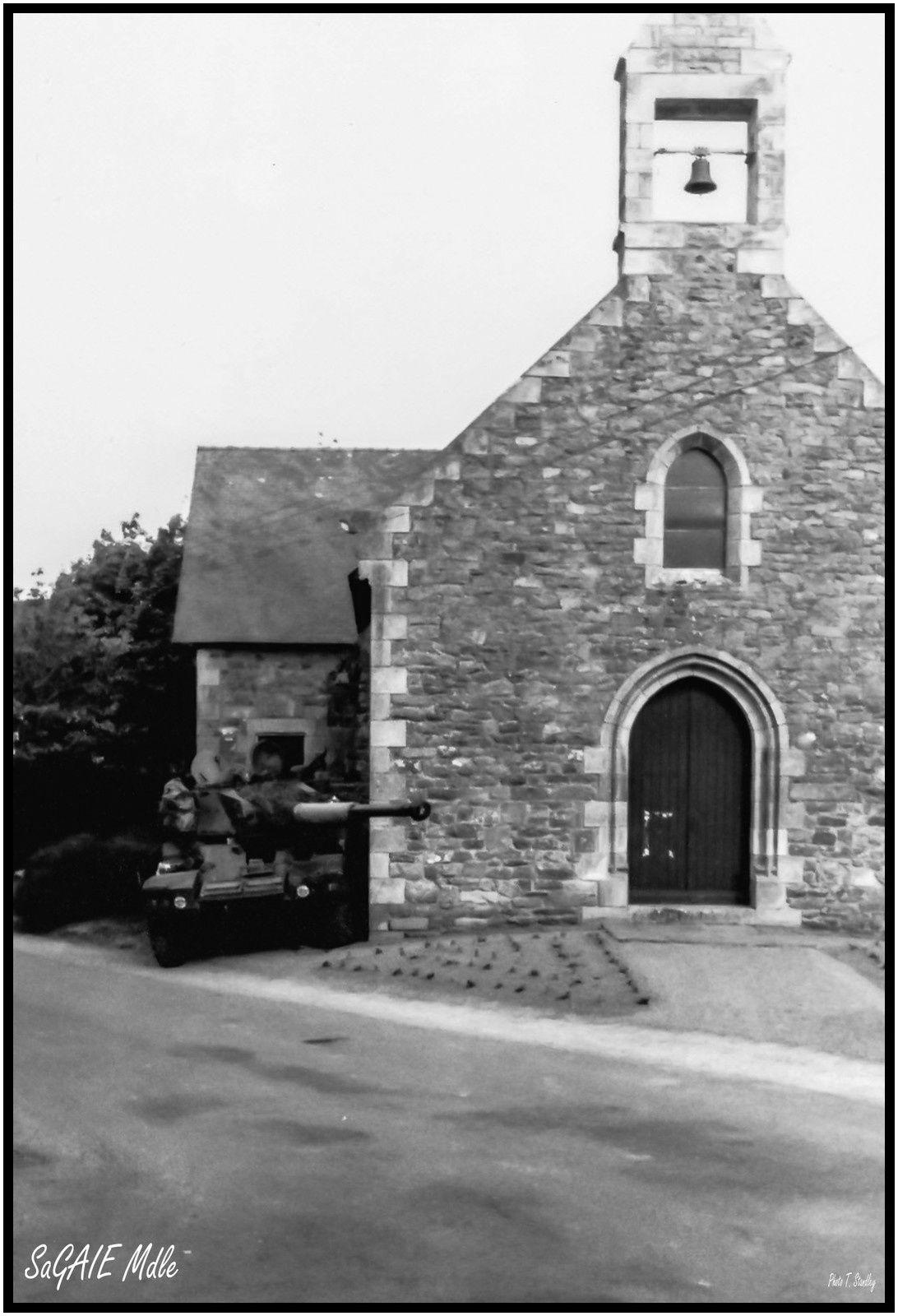 La Sagaie et l'église