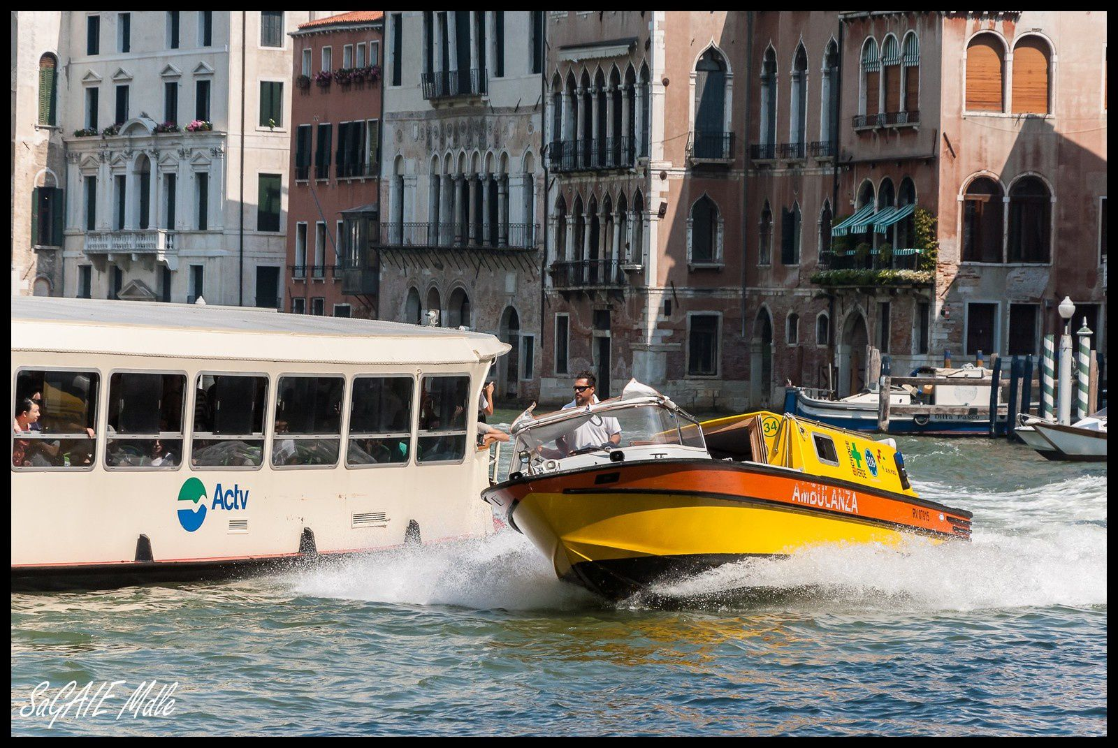 Ambulance à Venise