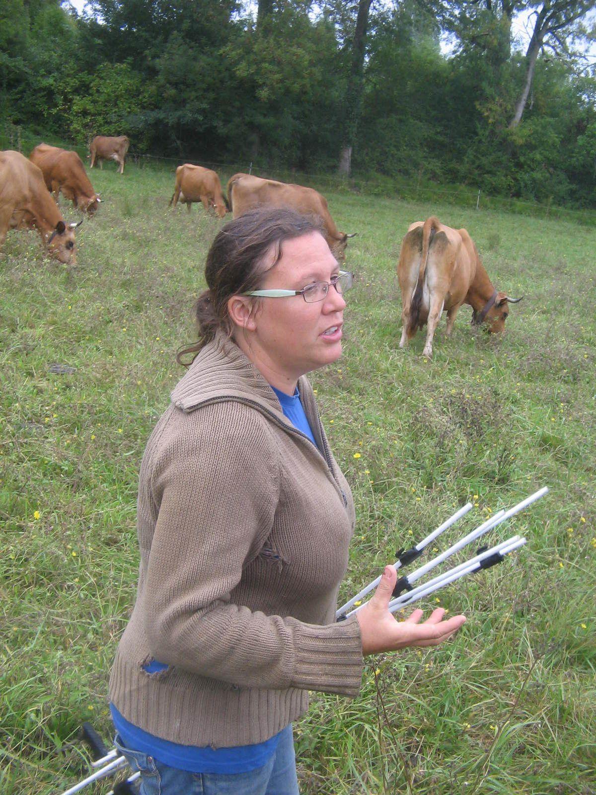 Visite de la ferme de la Coutaude 13 septembre 2015