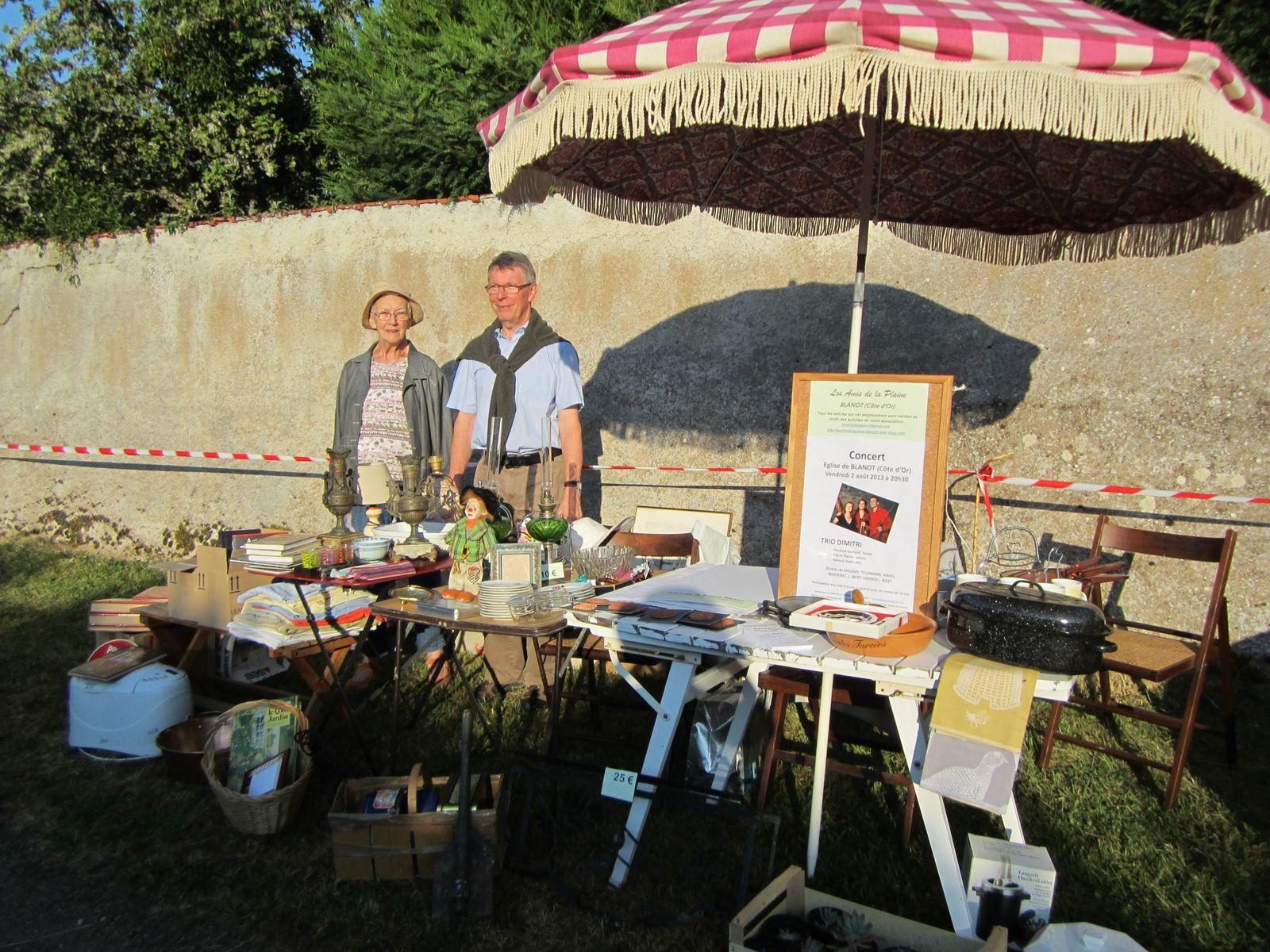 Vide grenier à Bard-le-Régulier dimanche 21 juillet 2013