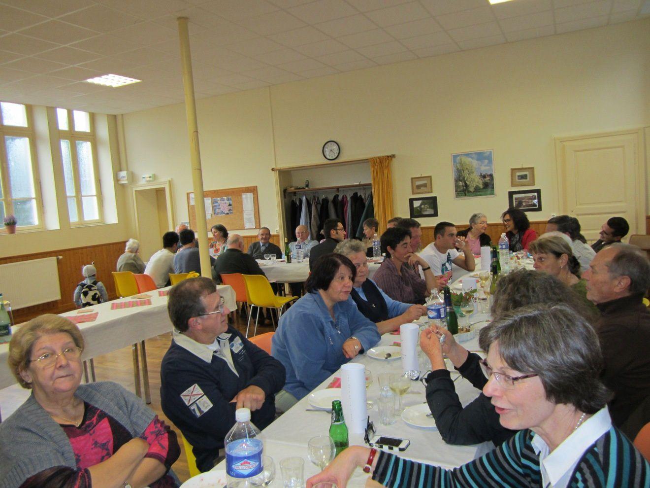 Un repas choucroute à Blanot dimanche 27 octobre 2013