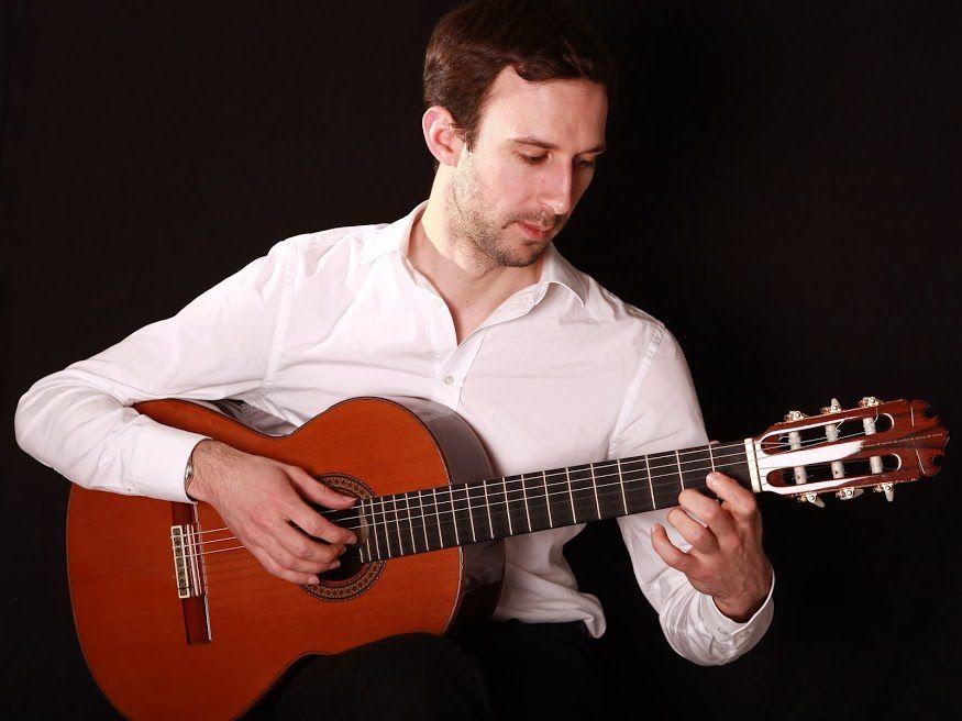 Concert estival à Blanot (Côte d'Or) : flûte traversière et guitare classique