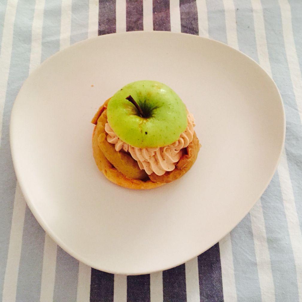 Choux pomme tatin de Michalak