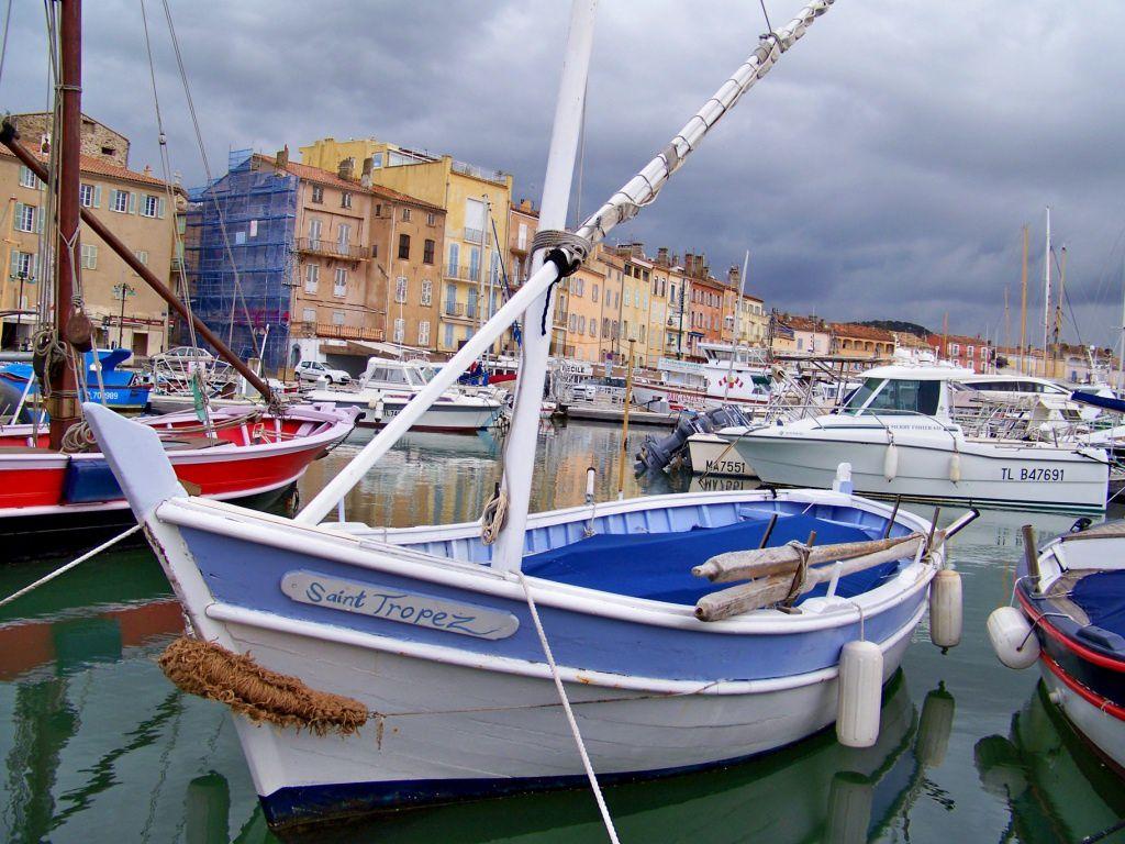 St Tropez en janvier