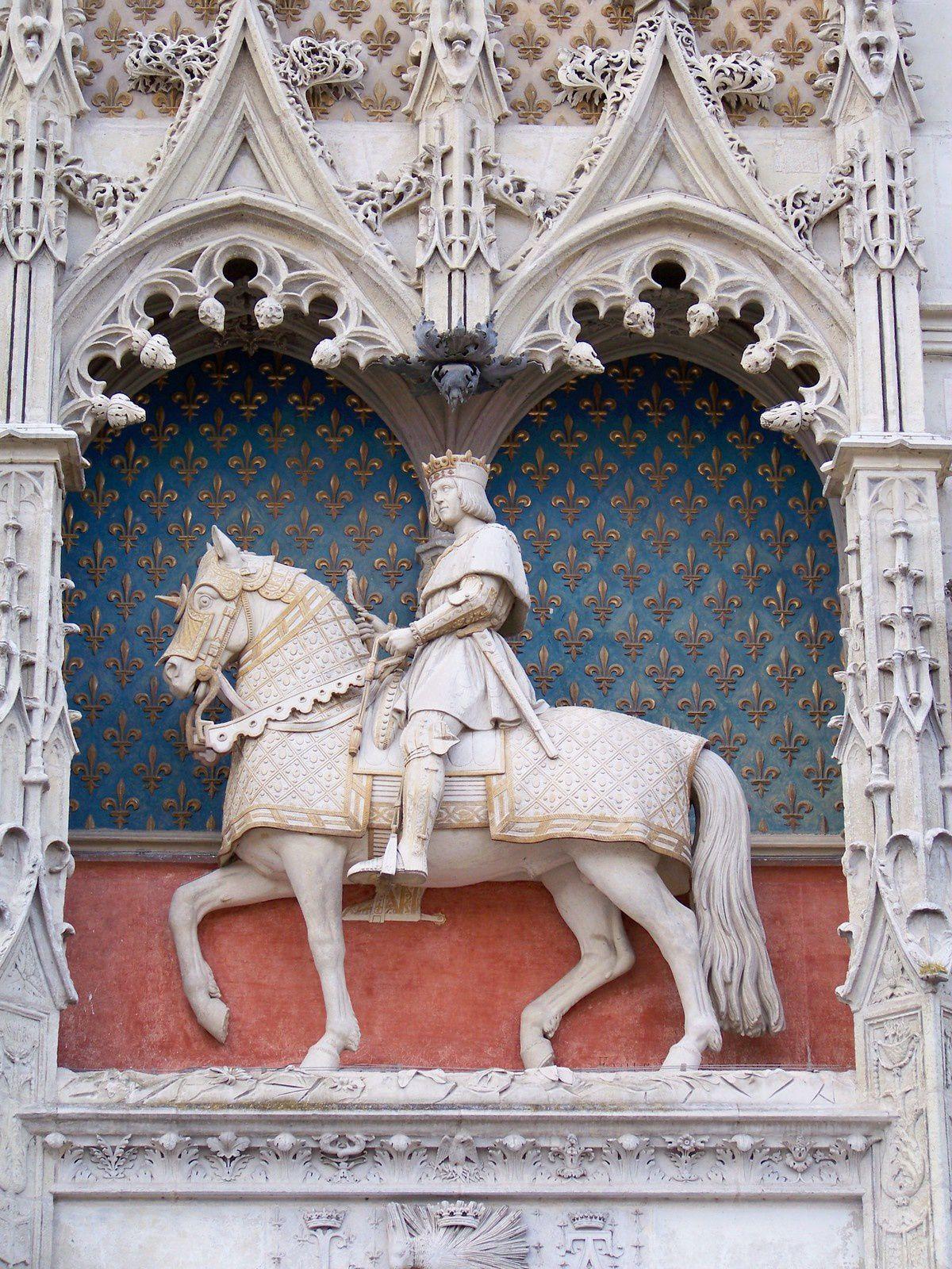 Statue équestre de Louis XII