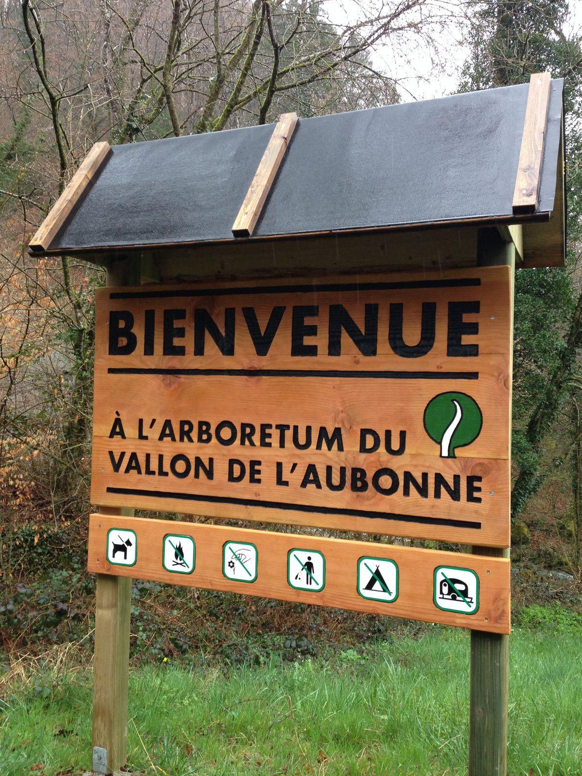 mardi 5 Avril:  du coté d'Aubonne et son Arboretum