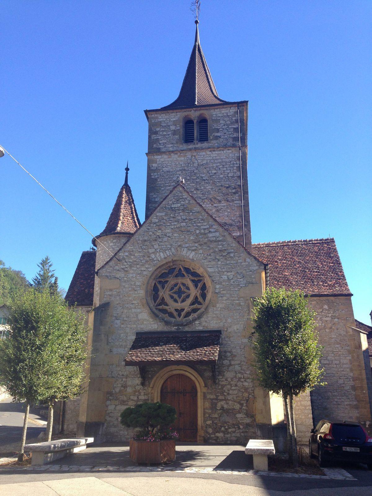 mardi 23 Août: Valangin Chaumont