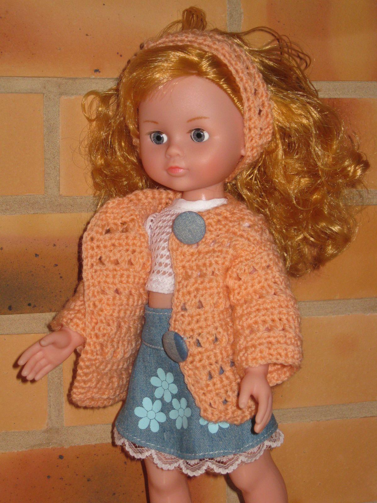 Une petite veste pour Christine - tuto crochet  &quot&#x3B;Chéries et Paola Reina&quot&#x3B;
