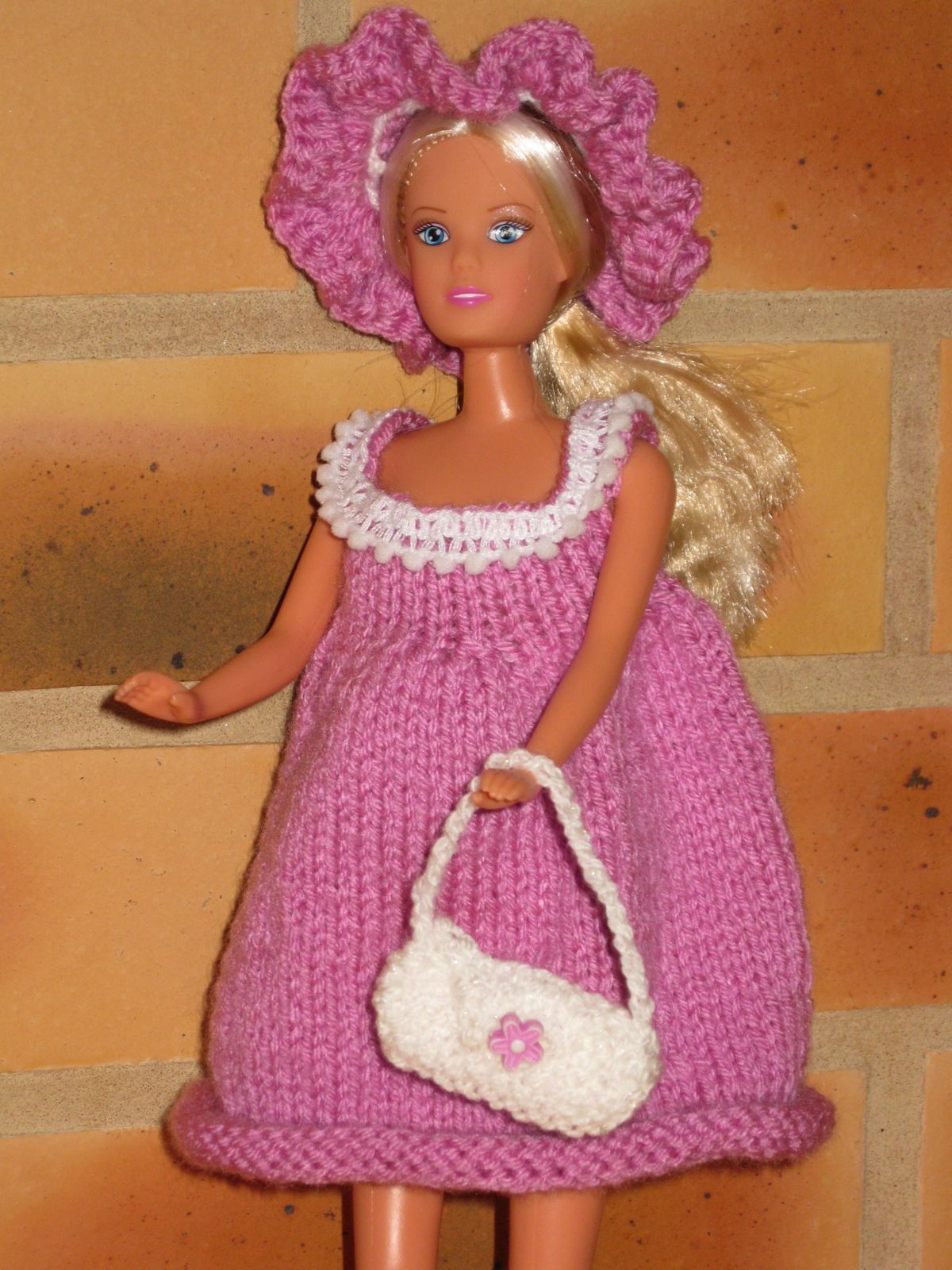 robe maternité barbie-steffy