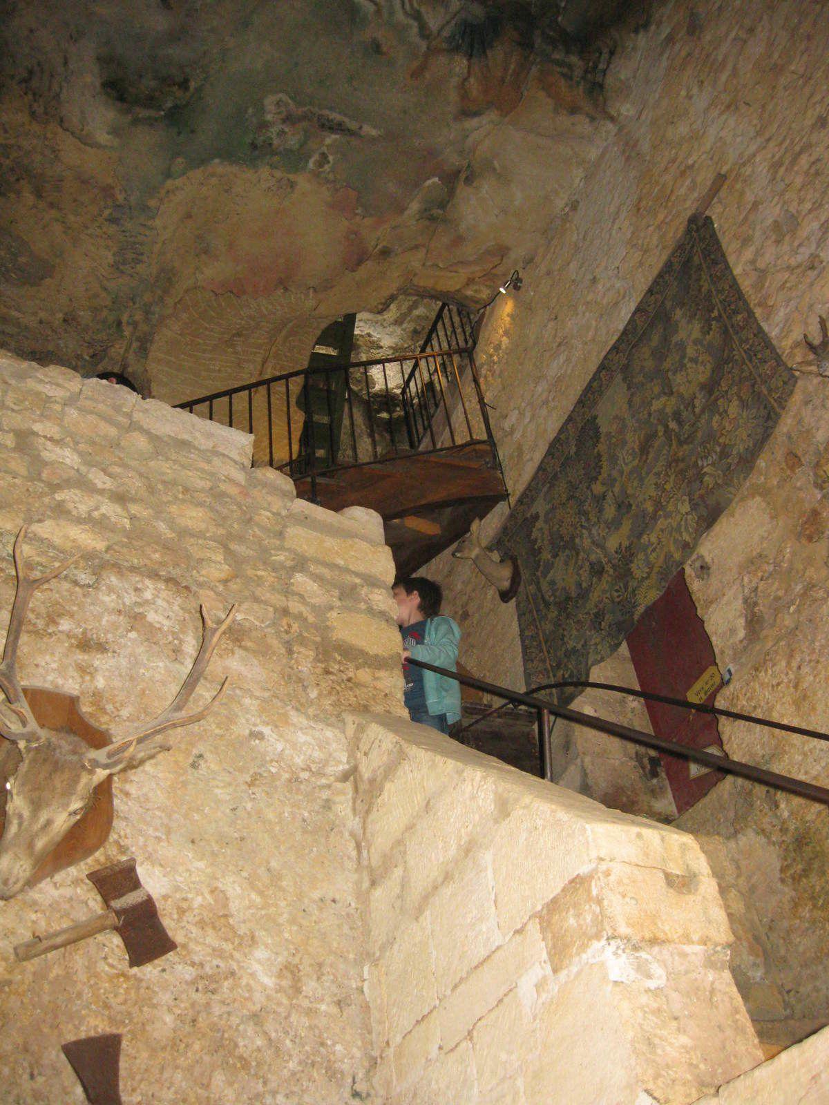 """escalier de """"Maison Forte"""""""