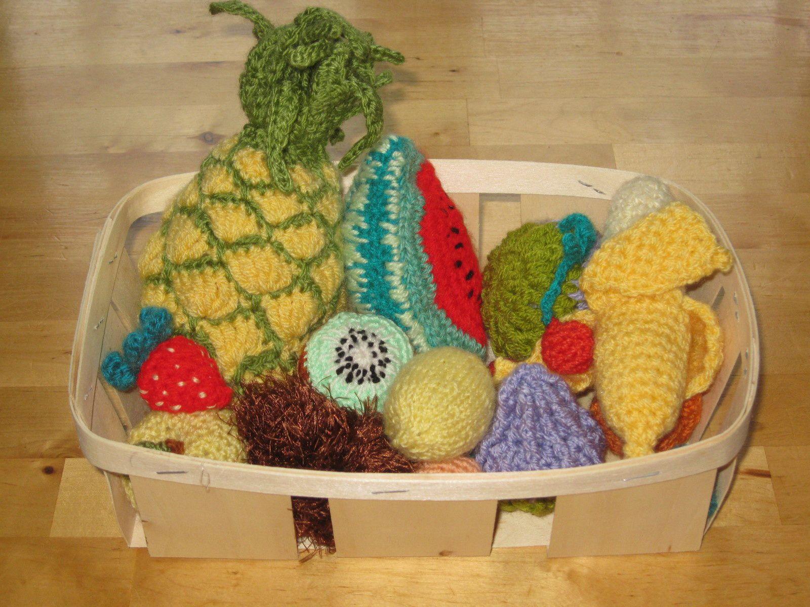 Un citron pour ma dinette ... tutos tricot-crochet