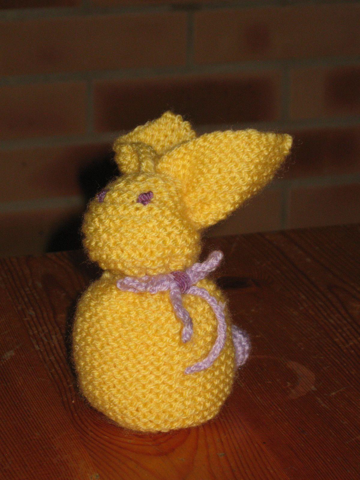"Un petit lapin de Pâques ... ""mon petit lapin or"""