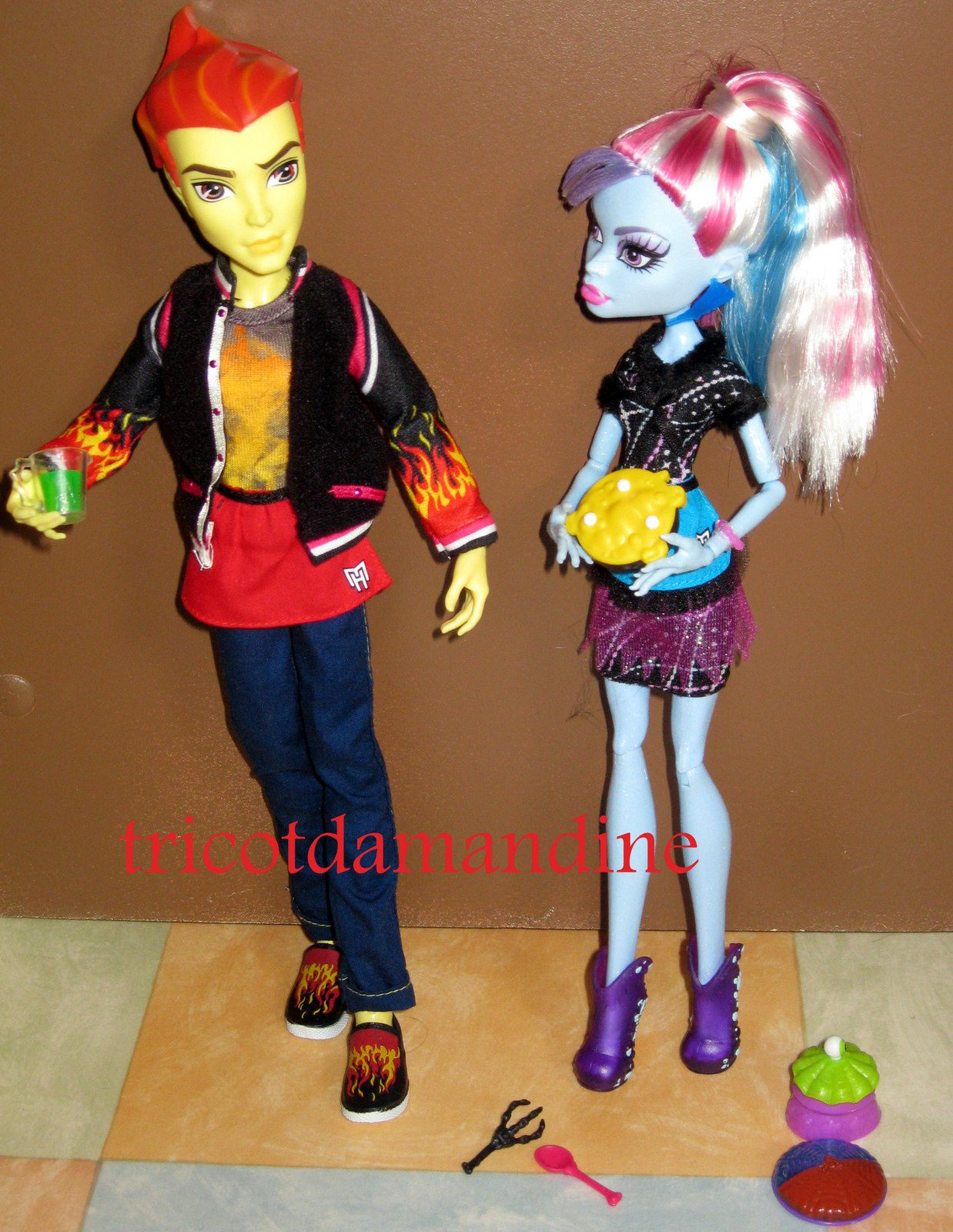 Quelques &quot&#x3B;Monster high&quot&#x3B;