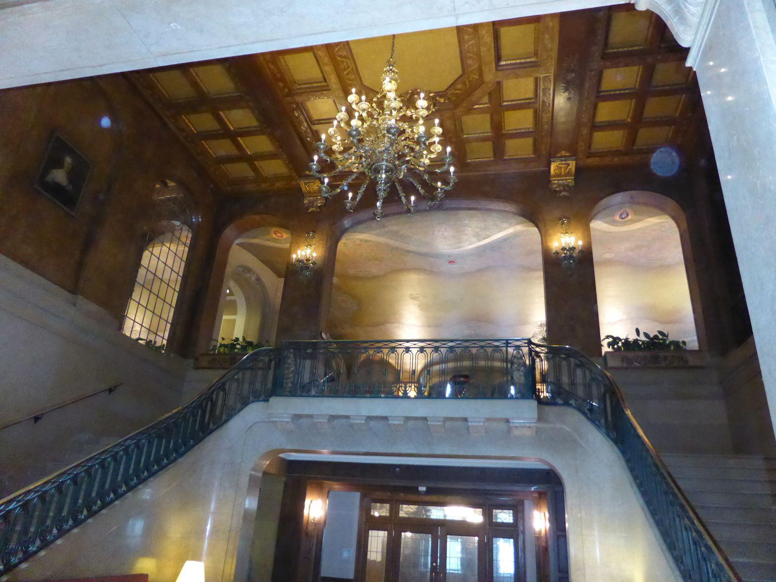"""intérieur du """"chateau Frontenac"""""""