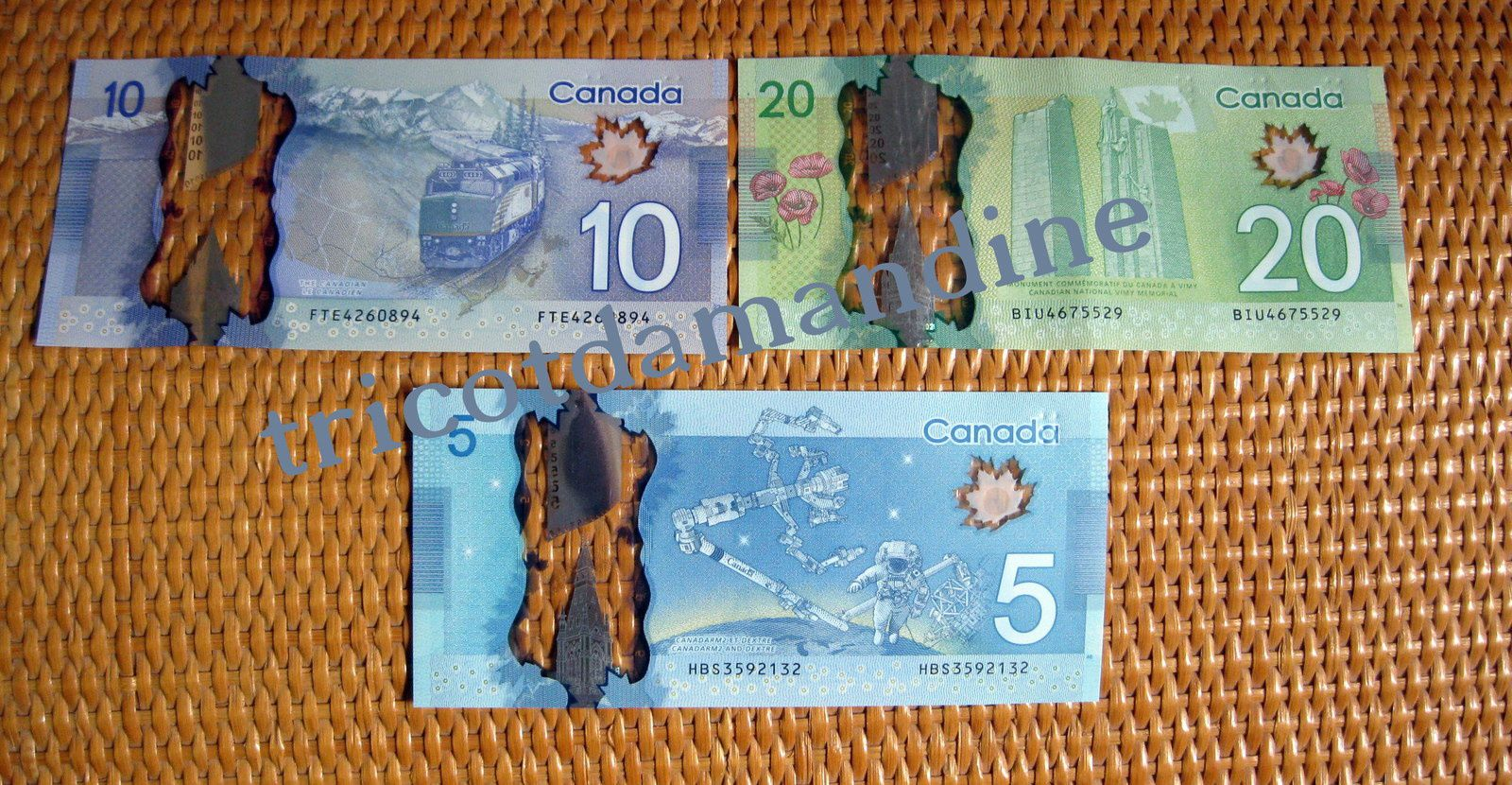 billets canadiens
