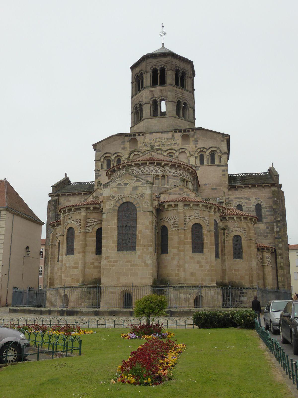 Mes visites en Auvergne - abbatiale Saint Austremoine