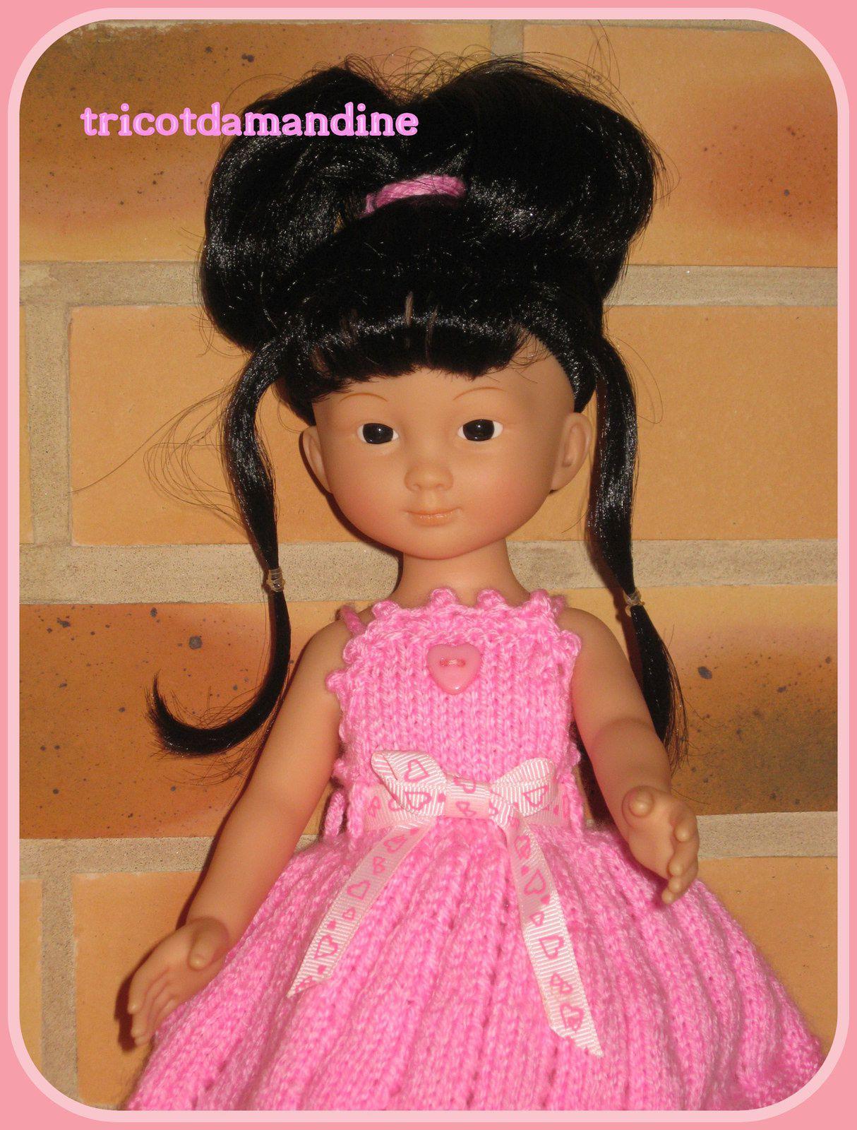 Chidori et sa belle robe