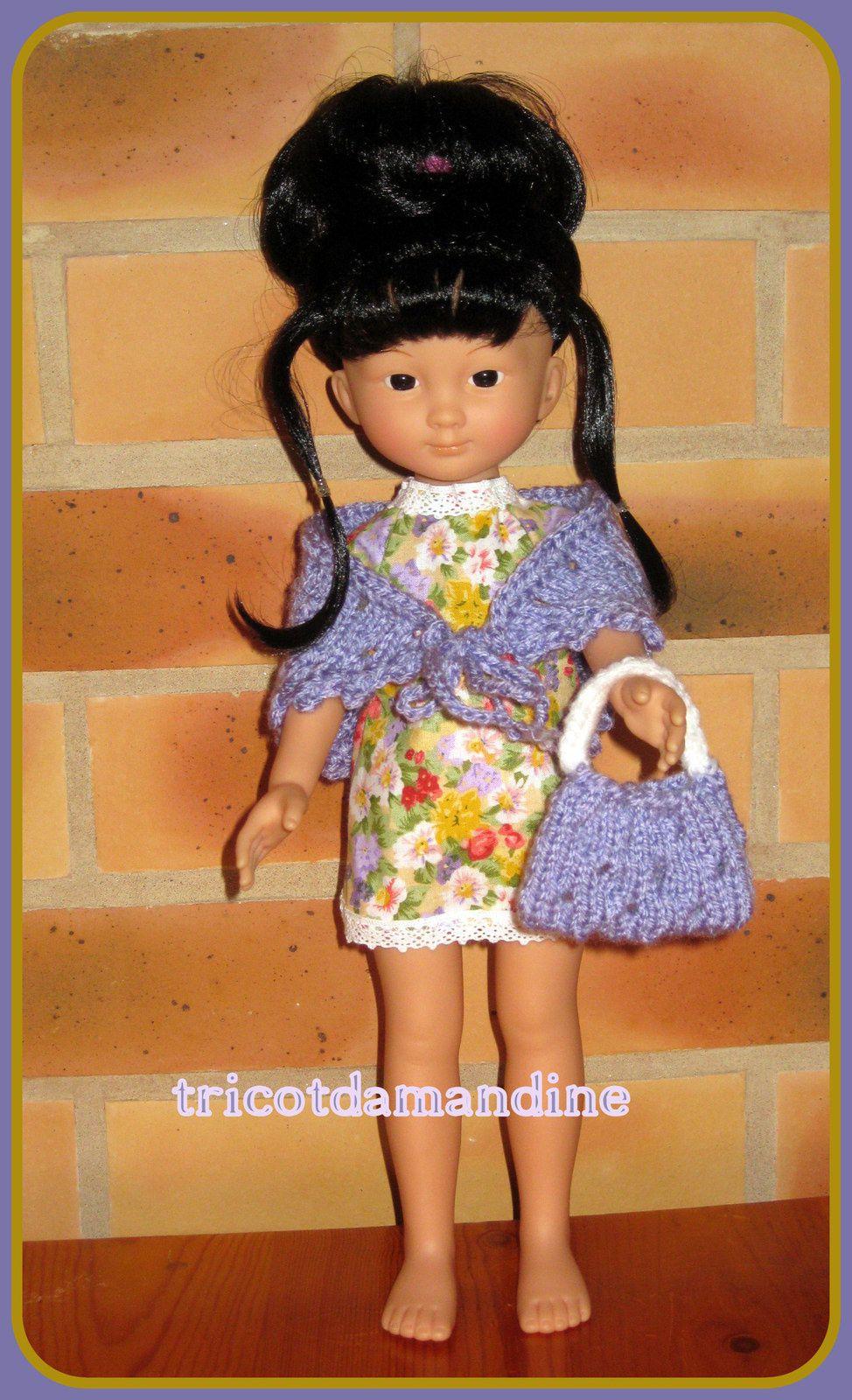 Petite robe à fleurs pour &quot&#x3B;Chéries - Paola Reina&quot&#x3B;