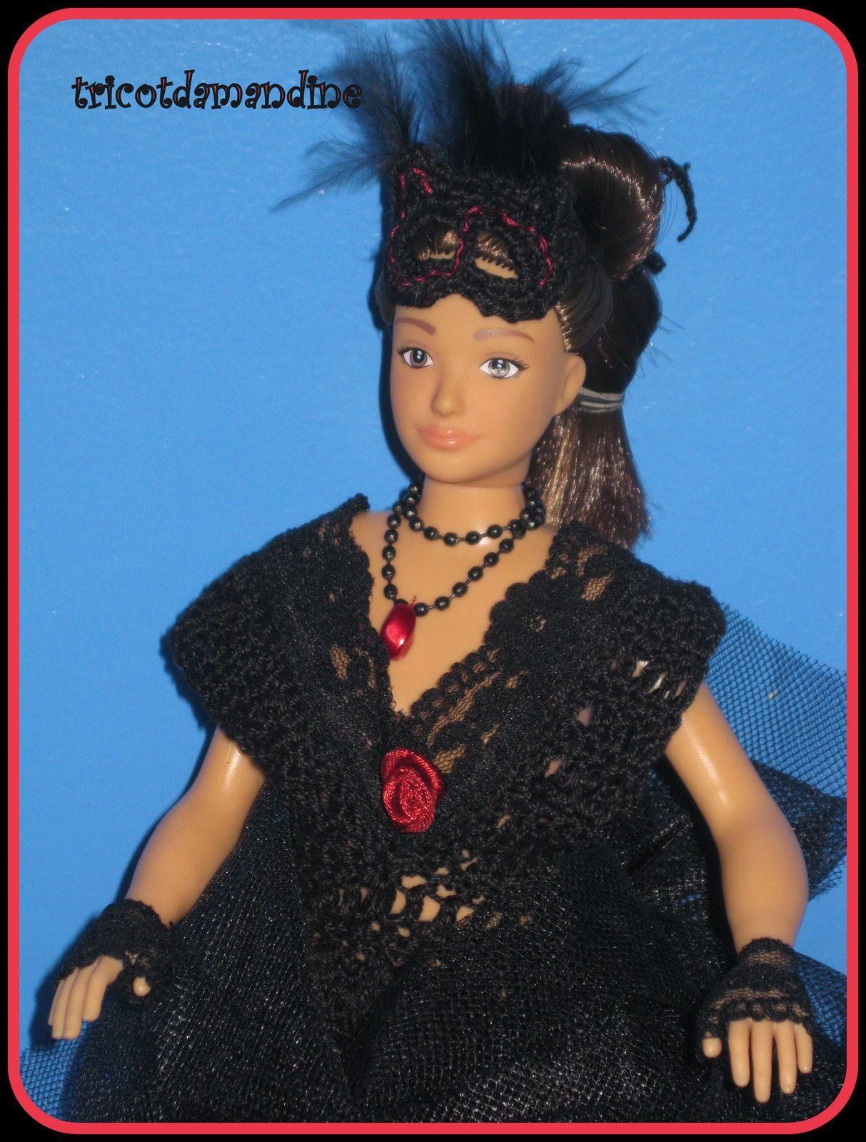 """Défi de chez Pipiou, """"la petite robe noire"""" ..."""