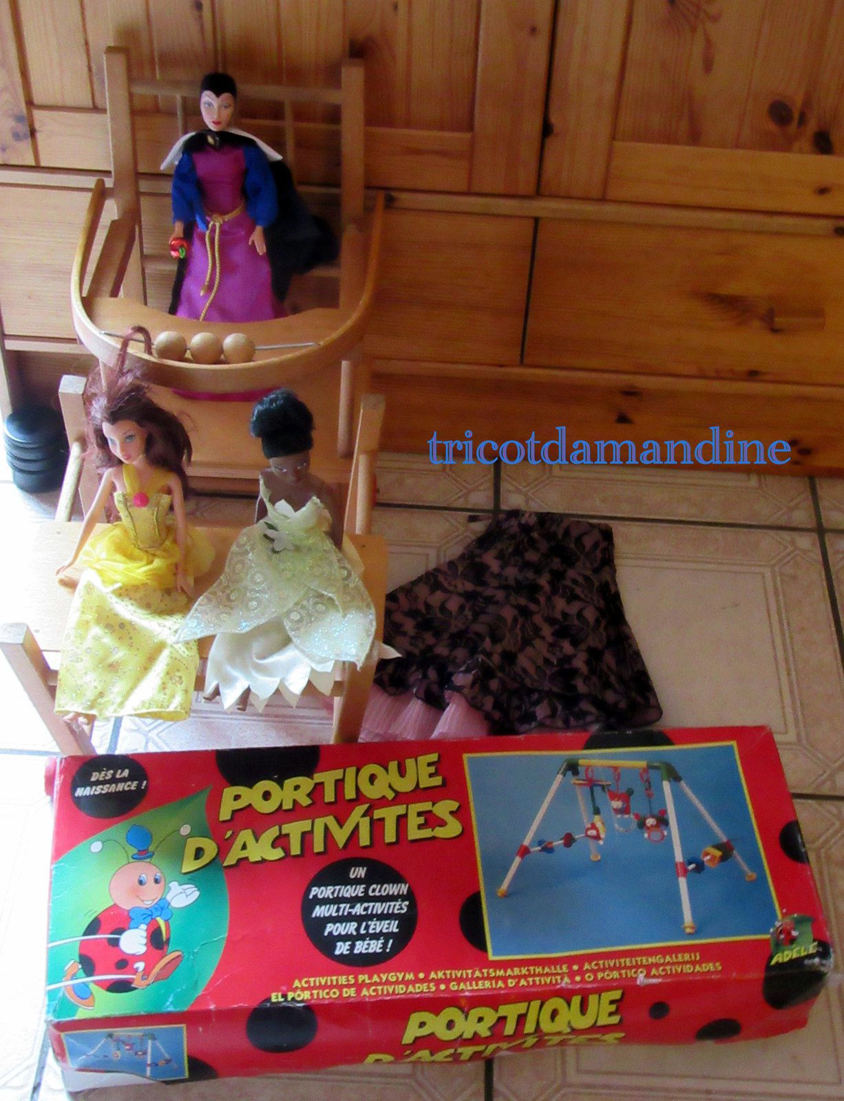 Ob Brocante Crochet Barbie Princesse