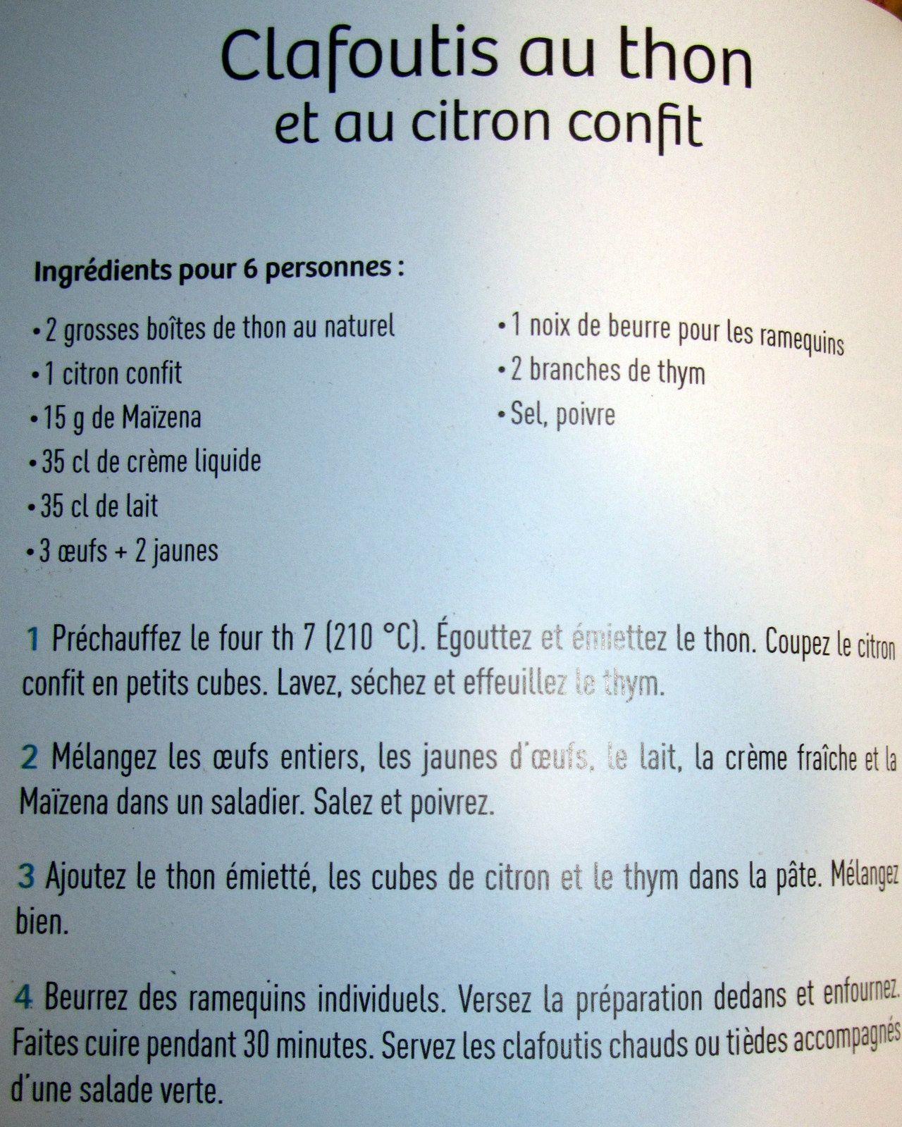 Clafoutis au thon - recette facile ...