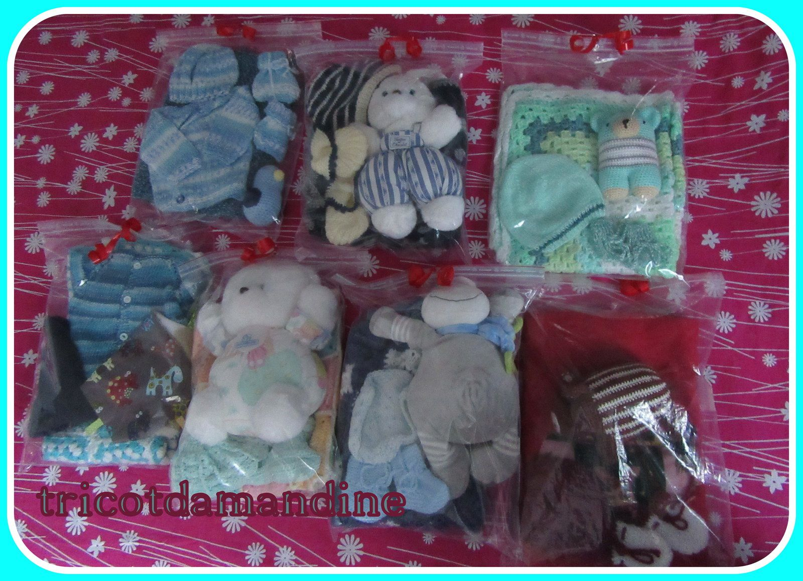 Ma visite à la maternité , distribution de vos colis de Noël ...
