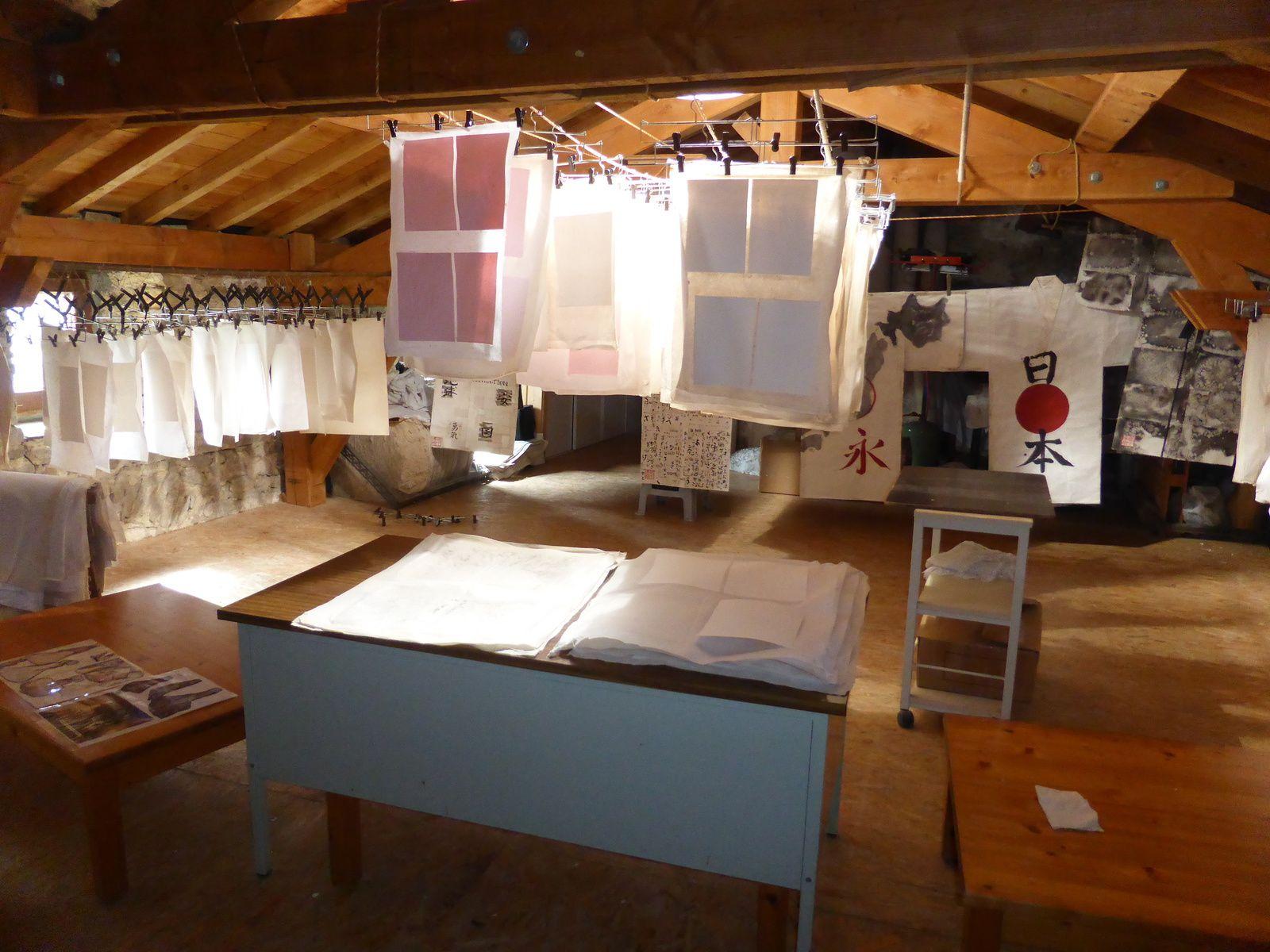 Mes visites en camping-car ... suite de mes vacances 2015 - Moulin à papier de Brousses