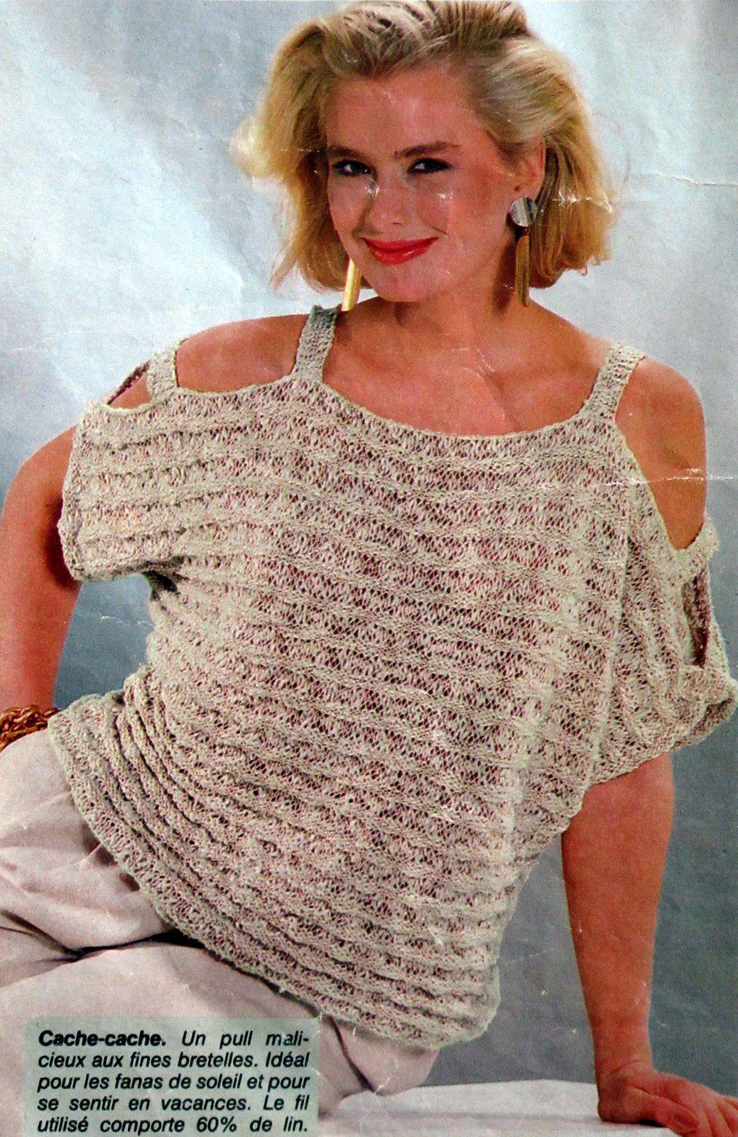 Un petit pull femme pour l'été .. T36.38 et T40.42