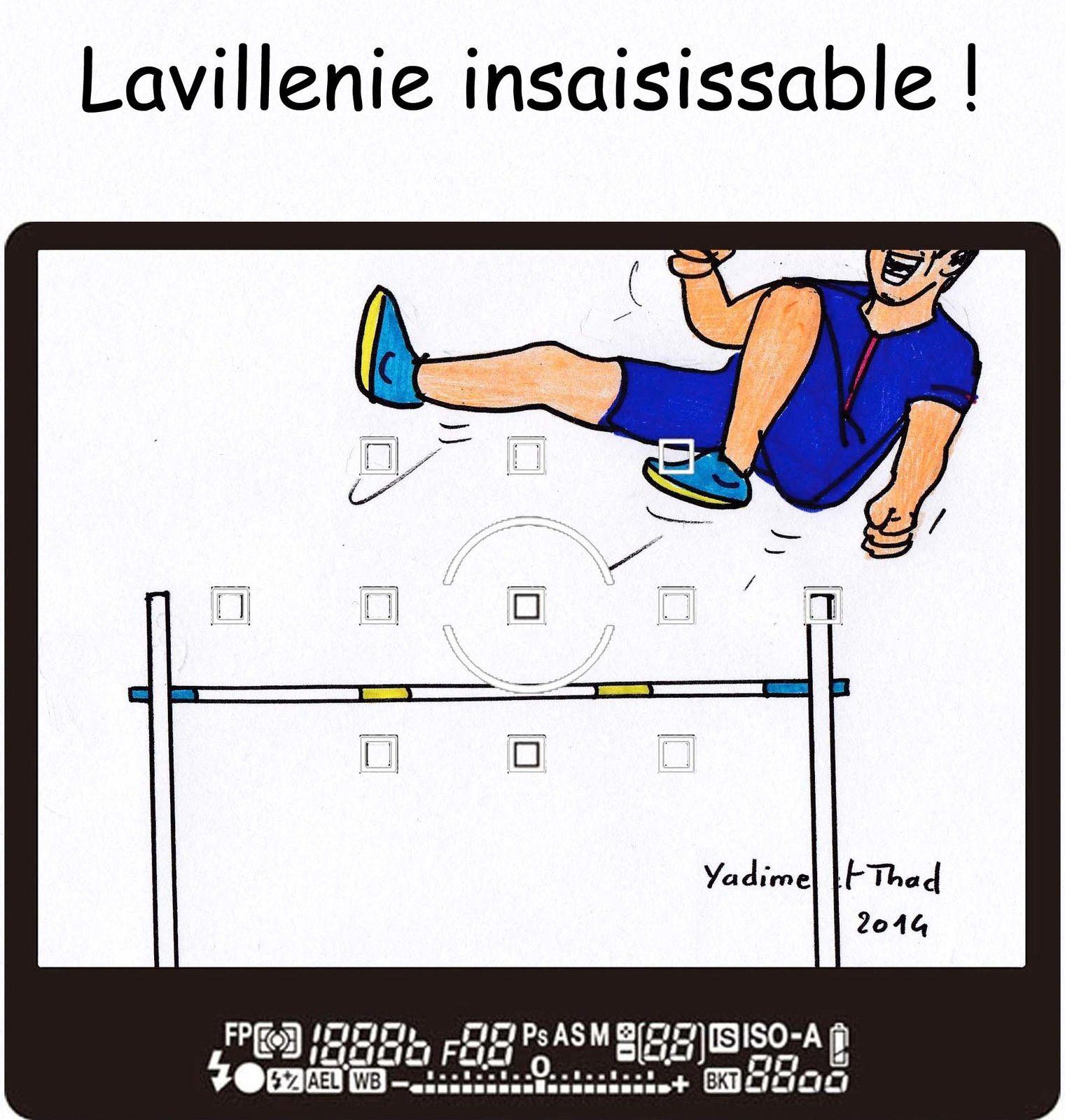 Lavillenie : hors cadre
