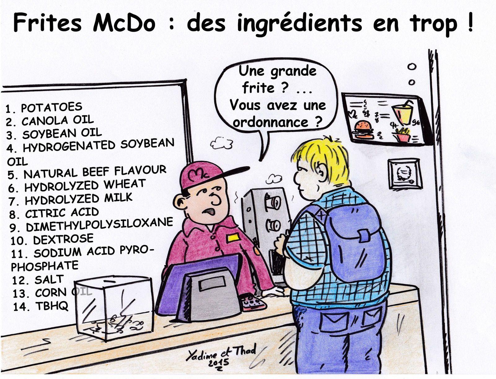 Ronald McDonald, préparateur en pharmacie