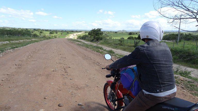 Balade à moto sur les routes du Paraiba