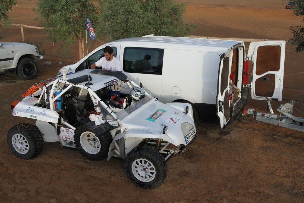 Vérifs du Morocco Sand Express notre nouveau rallye raid merzouga, chegaga