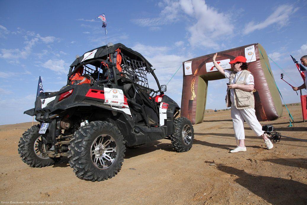 Etape 1 du Morocco Sand Express 2014