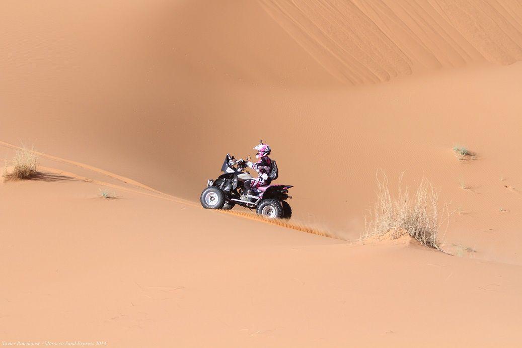 Etape 2 du Morocco Sand Express 2014, rallye raid maroc 4x4, buggy, ssv, moto quad